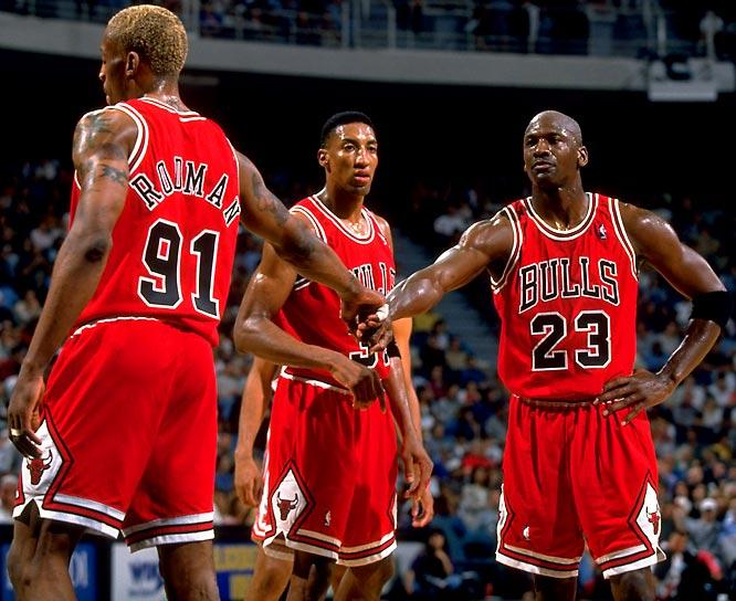Pippen - Jordan - Rodman